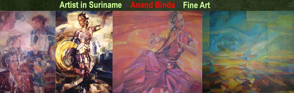 Anand Binda, Artist in Suriname